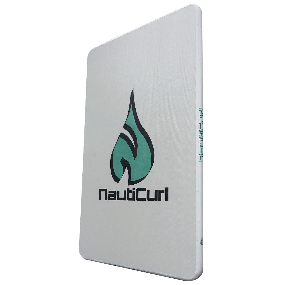 NautiCurl Inflatable Swimming Mat and Pad Reef Style