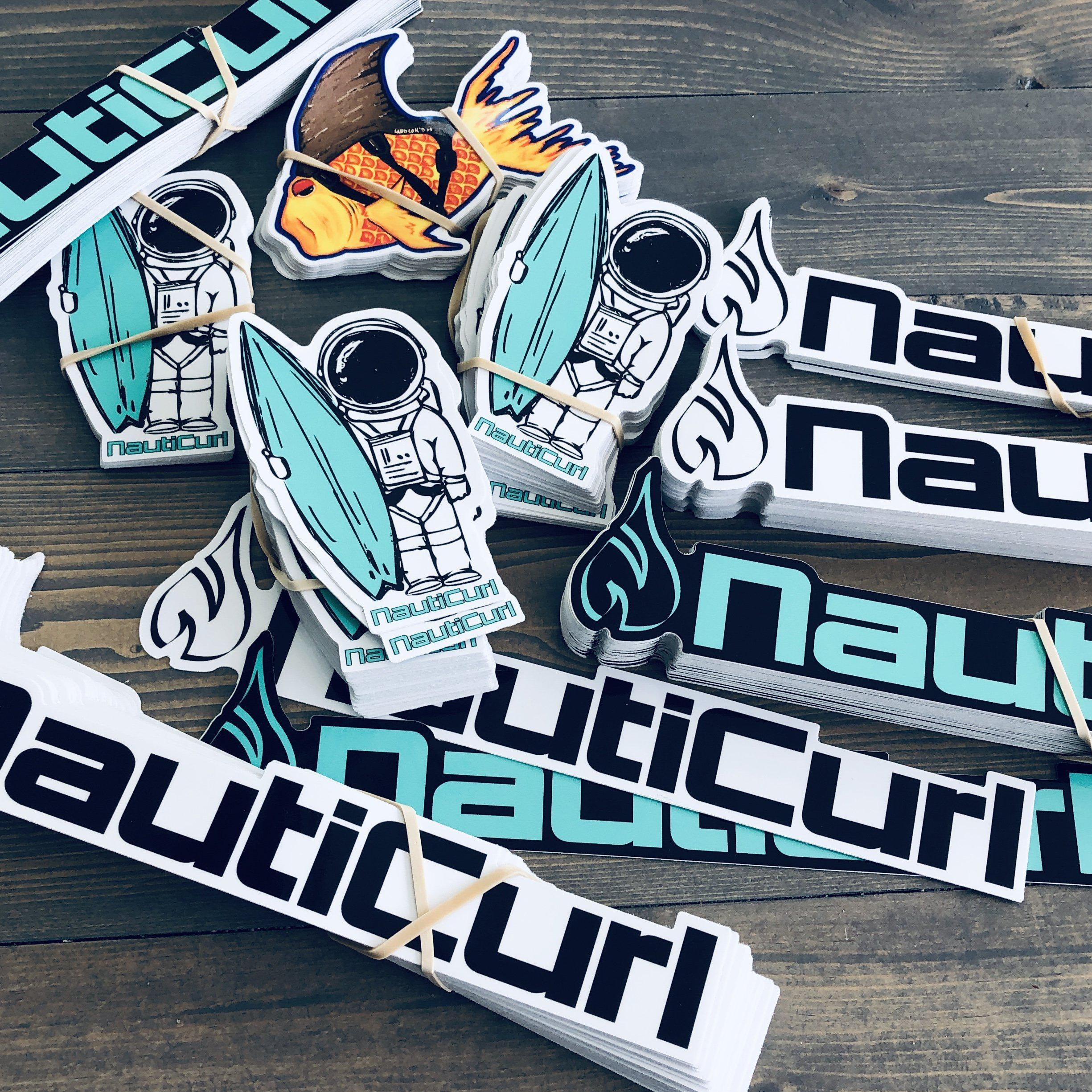 NautiCurl Sticker Pack