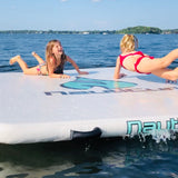 Lily pad mat inflatable float