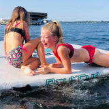 NautiCurl swimming pad inflatable reef mat lily pad