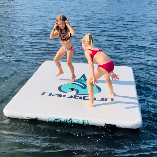 Best inflatable dock swimming pad