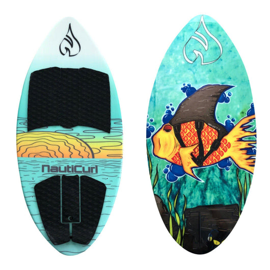 Goldie best kid's WakeSurf Board NautiCurl