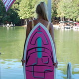 Girls WakeSurf Board Pink