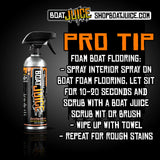 Best Boat Foam Seadeck Flooring Cleaner - Boat Juice NautiCurl.com