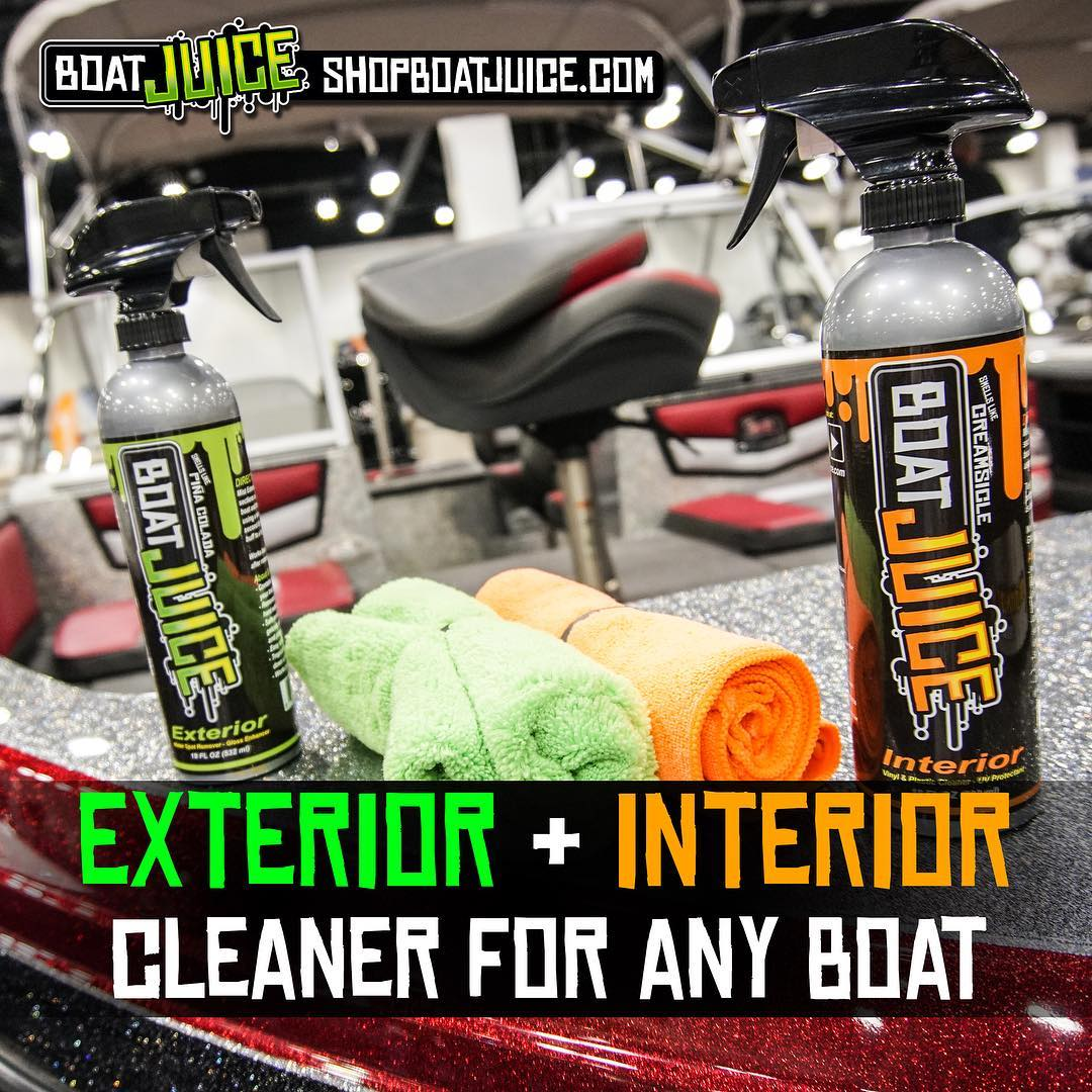 Boom - Best Boat Cleaners in one package - Boat Juice NautiCurl