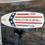 Board rack for surfing