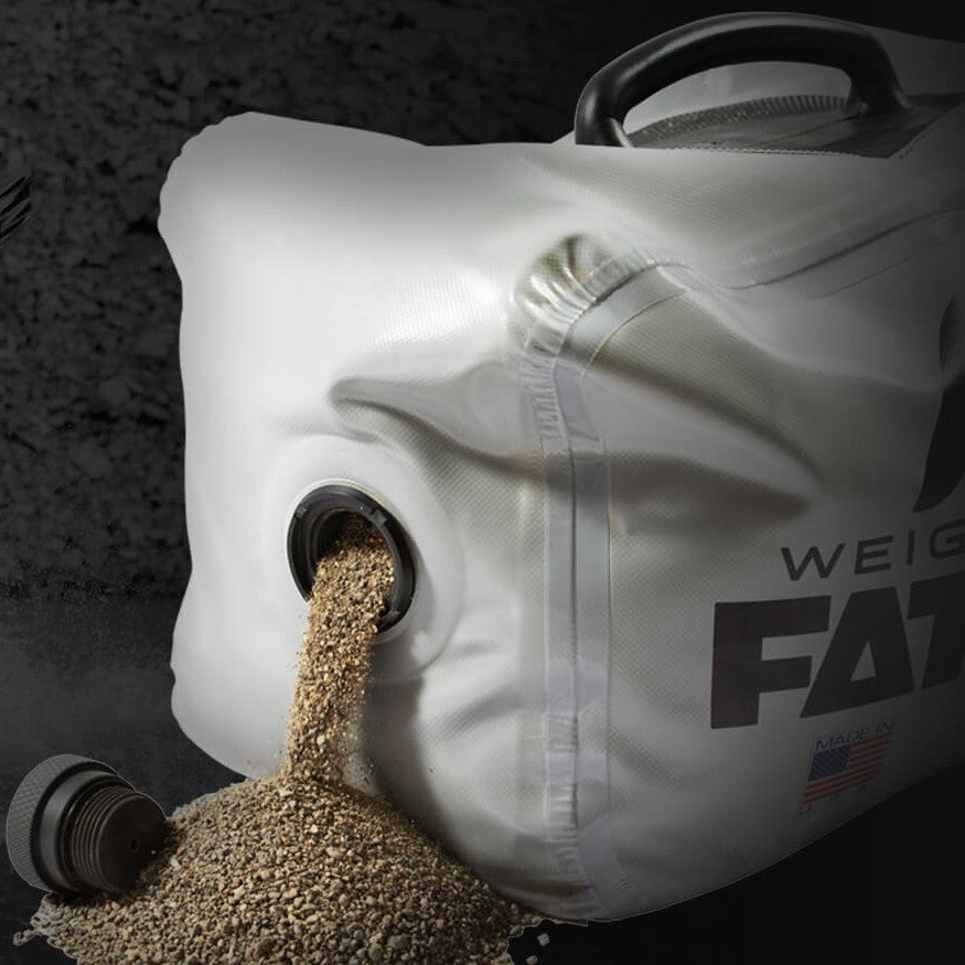 FatSac Fillable Sand Weight Bag - NautiCurl Weight Bag Lead Bag, Steel ballast weight bag