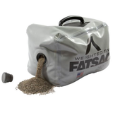 FatSac Fillable Weight Bag Ballast. NautiCurl My Sac is Heavier Than Yours Wakesurfing wakeboarding lead weight bag. Fills with sand or water.