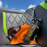 Boat Seat Cleaner for vinyl, carpet, plastic, dashboard, glass, metal, seadeck foam flooring, swim platform NautiCurl