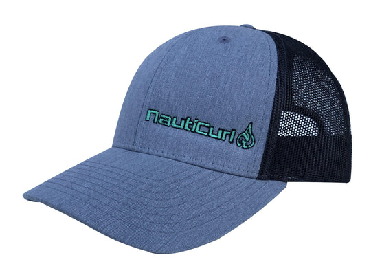 NautiCurl Mesh Surf Snap Back Hat