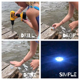 LED Dock & Deck Pods - Solar Powered Light Dots