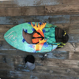 Kids board rack