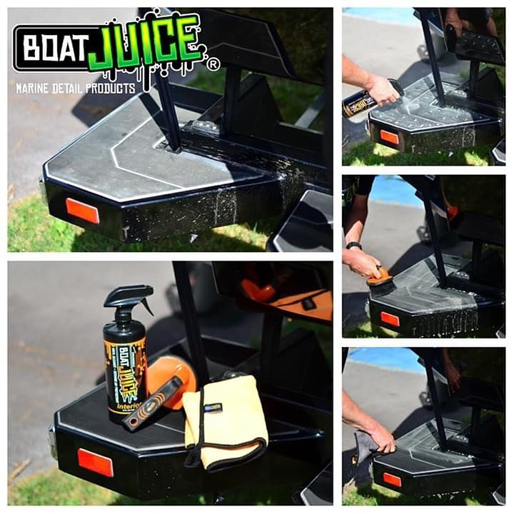 Best Boat Trailer Cleaner - Boat Juice NautiCurl