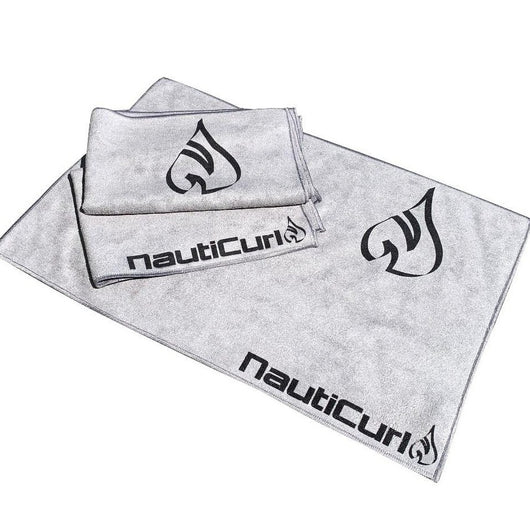 NautiCurl Beach Towel Microfiber cleaning boat towel, gray towelette