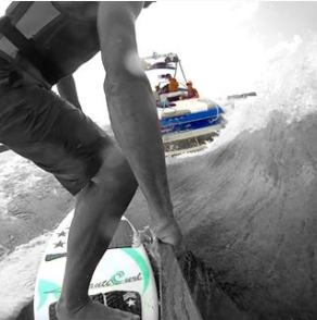 WakeSurfing - Wake Shaper Surf Gate