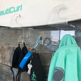 Surfboard rack with hooks best clear acrylic board rack
