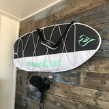 Wakesurf board bag clear rack for surfboards