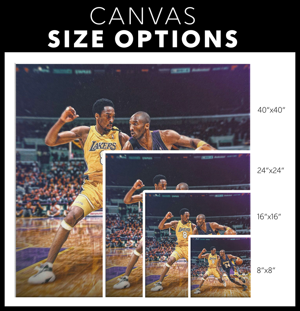 Kobe vs Kobe Canvas