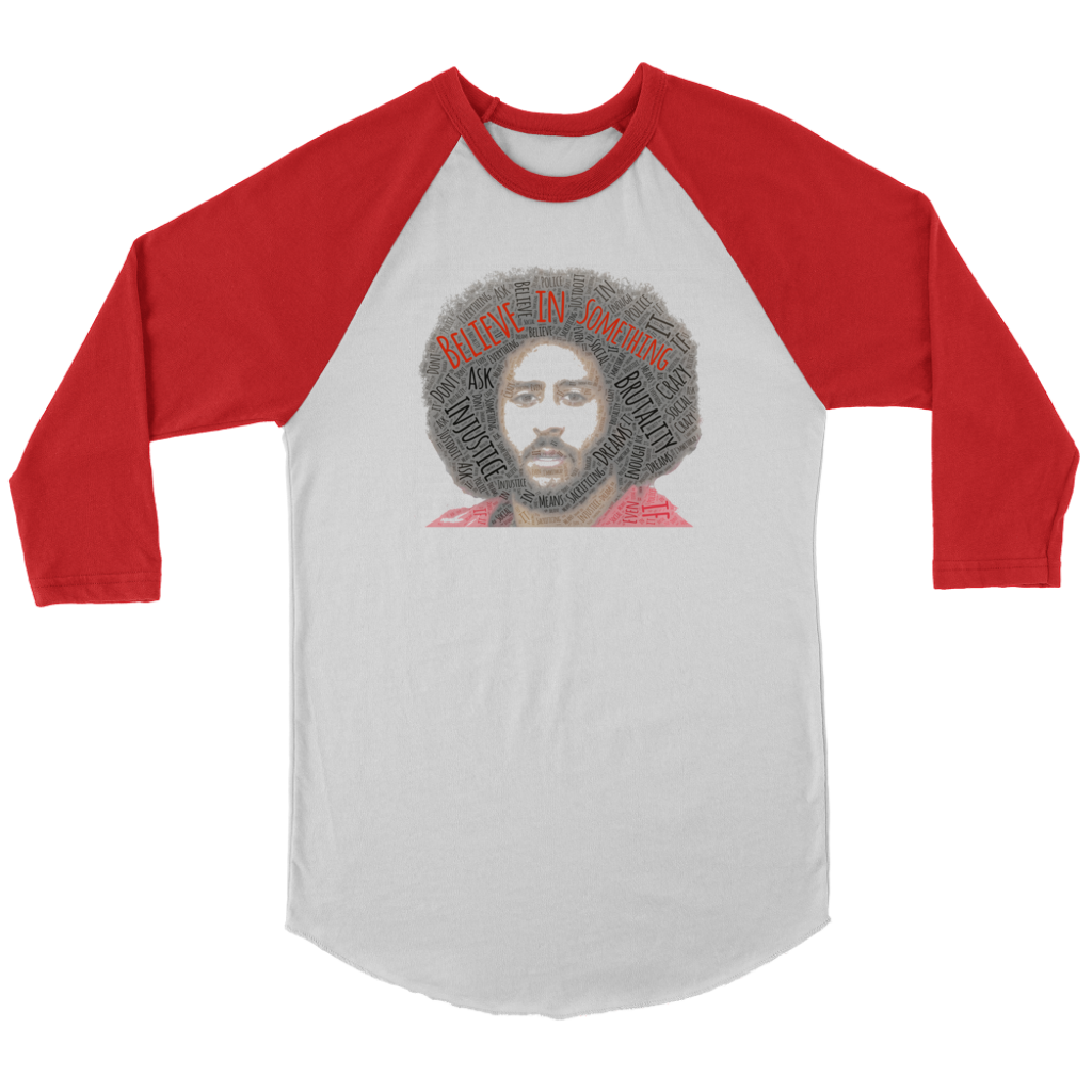 (KAP Believe In Something) Canvas Unisex 3/4 Raglan