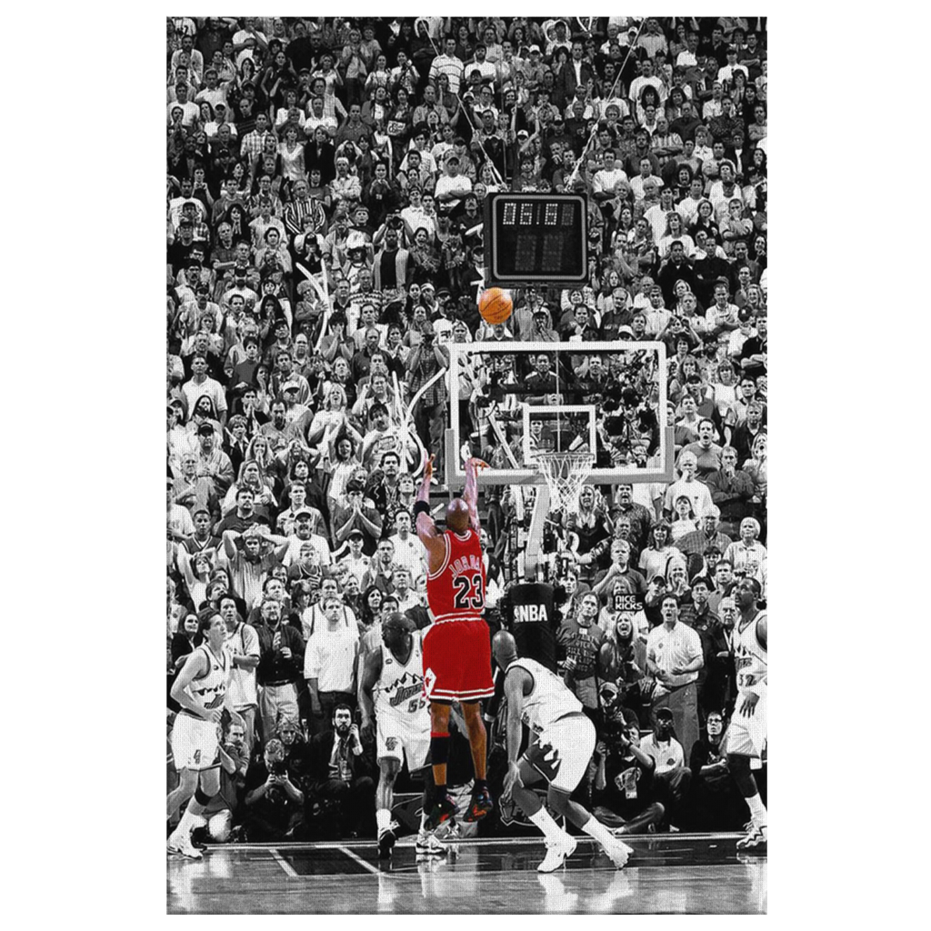 Jordan Game Winner Canvas