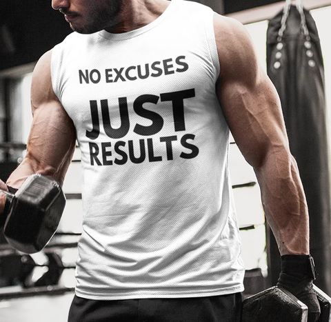 (No Excuses) Men's Lightweight Fashion Tee