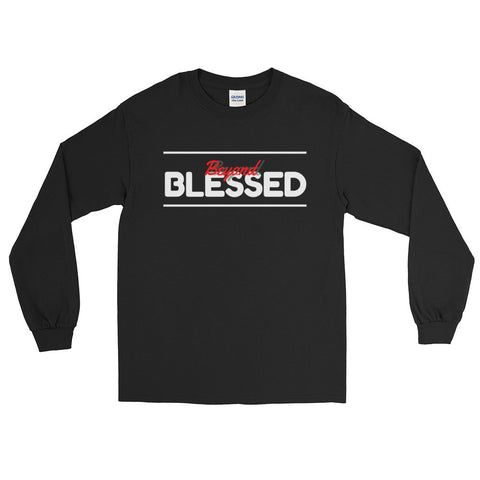 (Blessed) Mens's Long Sleeve T-Shirt