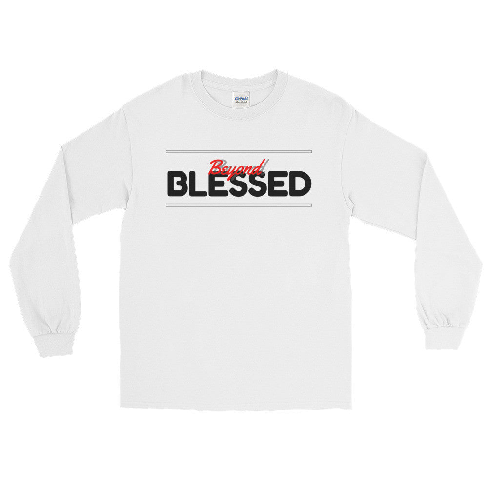 (Blessed) Men's Long Sleeve T-Shirt