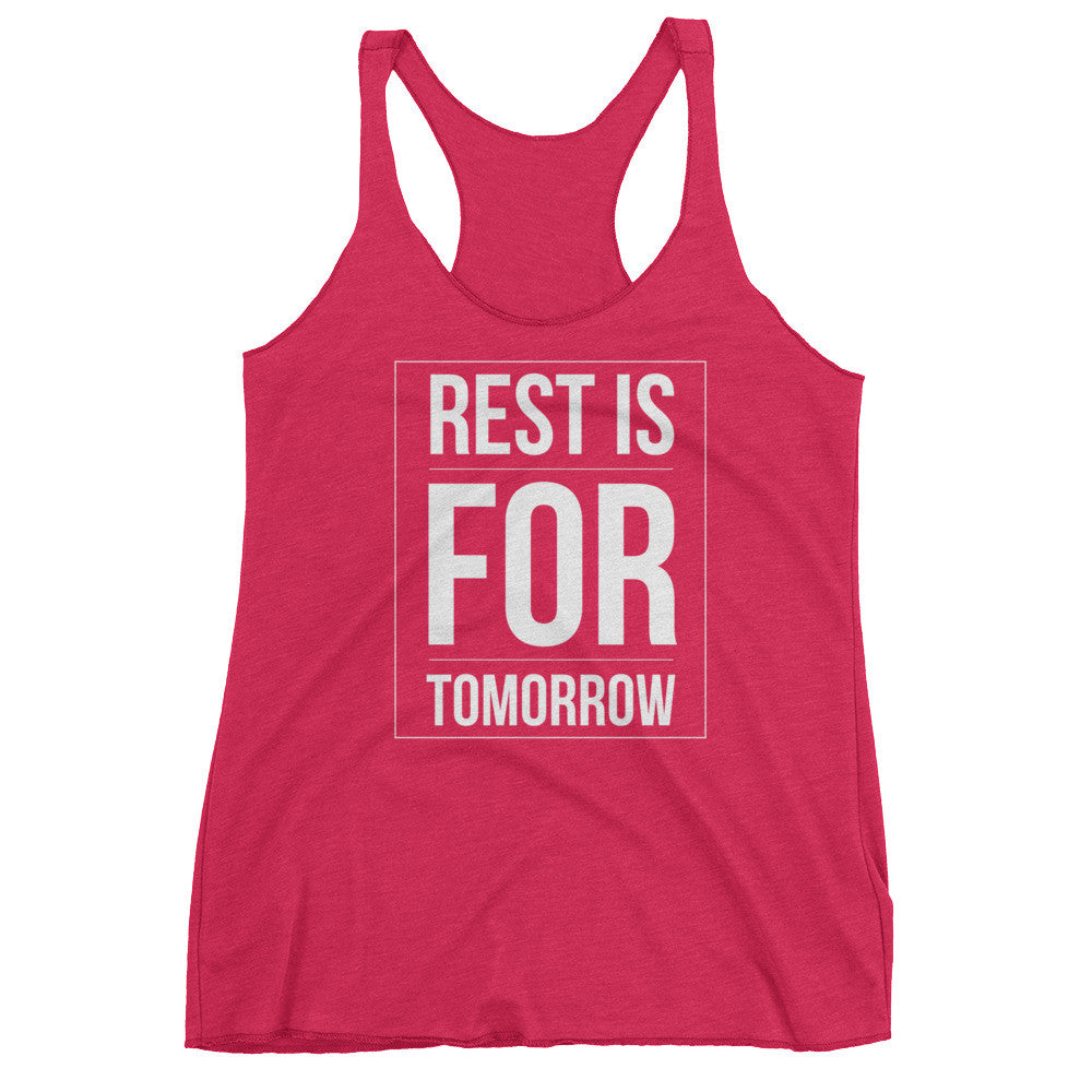 (Rest Tomorrow) Women's tank top