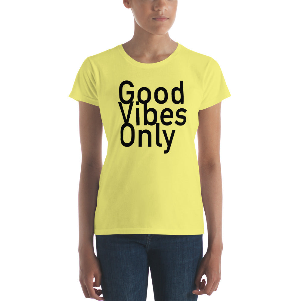 (Good Vibes Only II) Women's short sleeve t-shirt