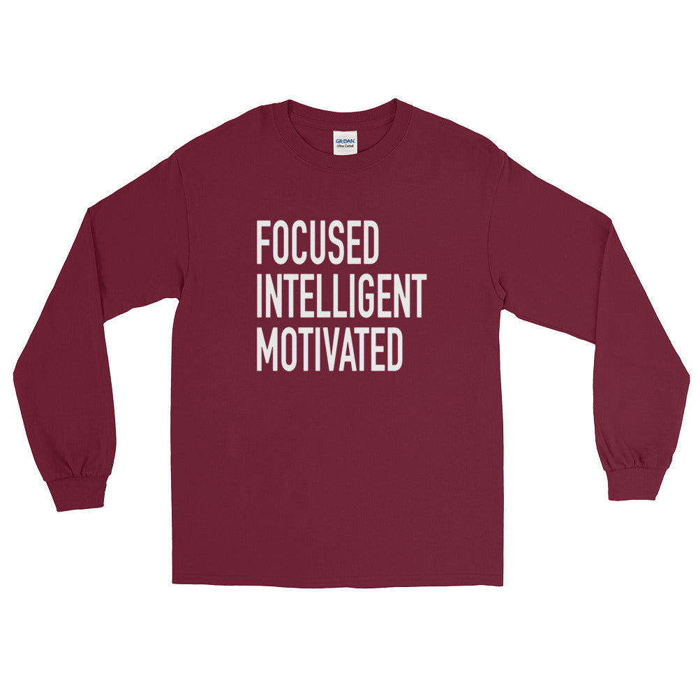 (Focused II) Long Sleeve T-Shirt