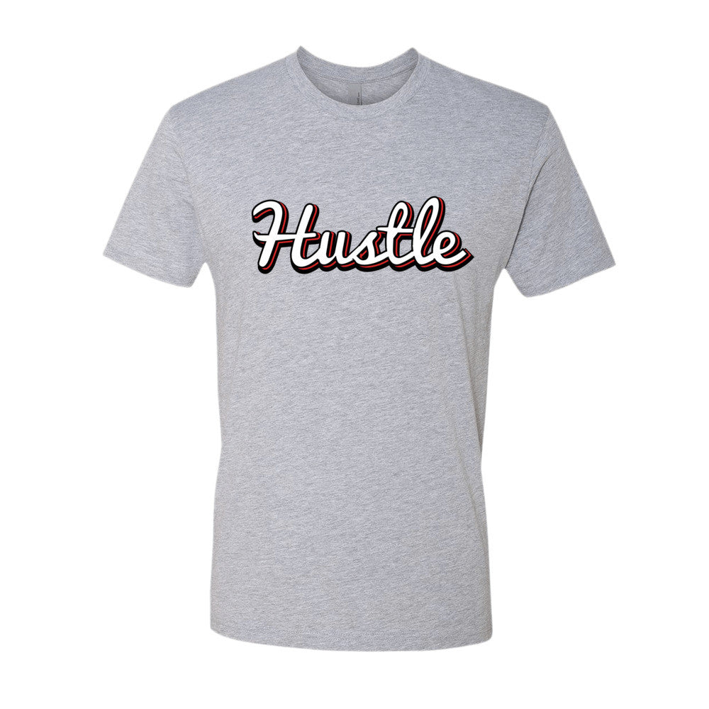 [Hustle] Short sleeve men's t-shirt
