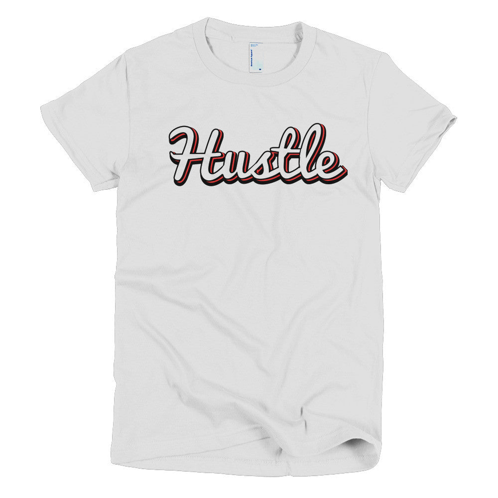 [Hustle] Short sleeve women's t-shirt