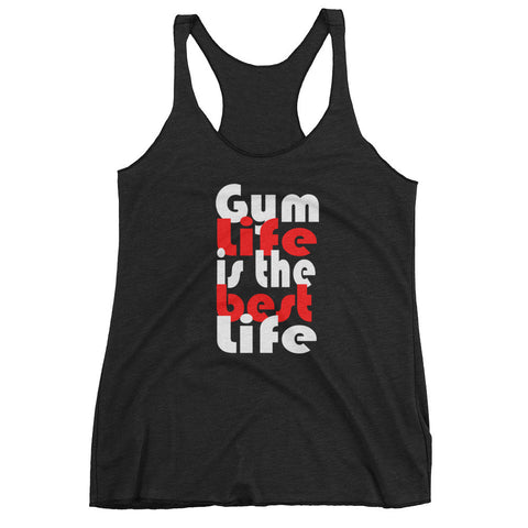 (Gym Life Best Life) Women's tank top