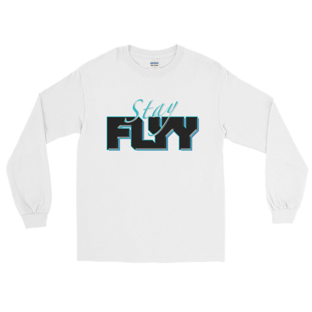 (Stay Flyy) Men's Long Sleeve T-Shirt