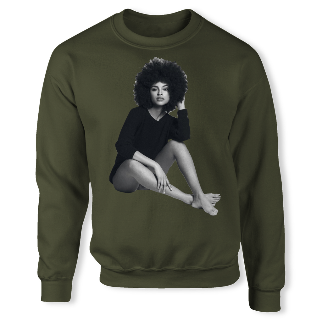 (Natural Black) Unisex Sweatshirt