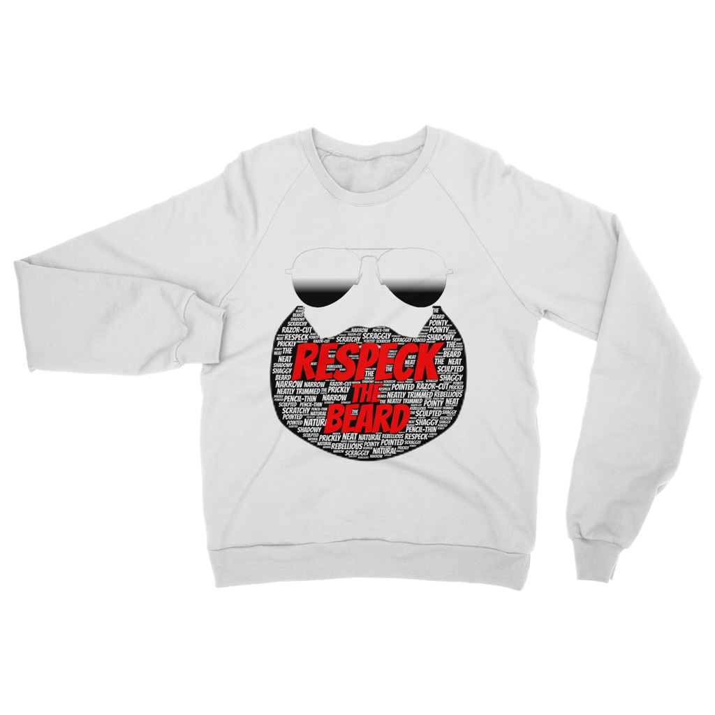(Respeck the Beard) Men's Sweatshirt