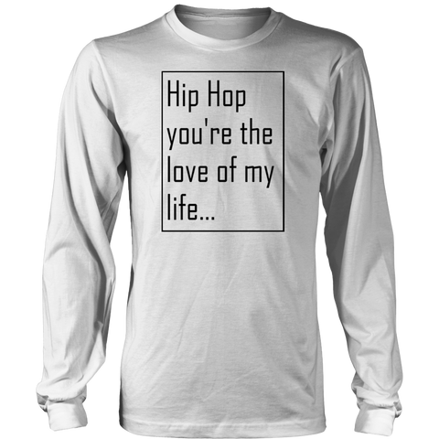 [HipHop Love] Men's Long Sleeve Tee