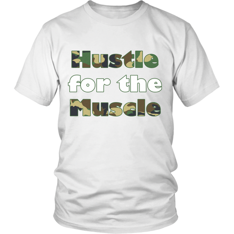 (Hustle for the Muscle) District Men's Tee