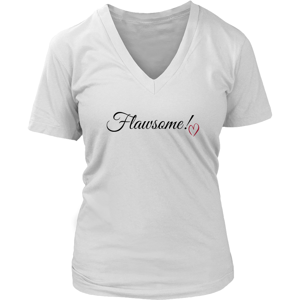 (Flawsome 3) District Womens V-Neck