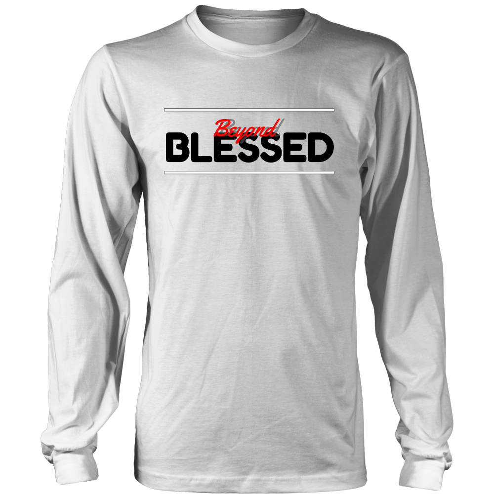 (Blessed) Men's Long Sleeve Tee