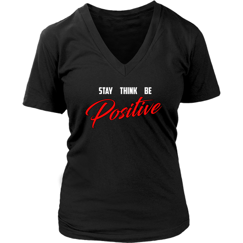 (Positive) Womens V-Neck