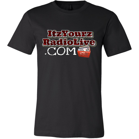 (ItzYourzRadio II) Canvas Men's Tee