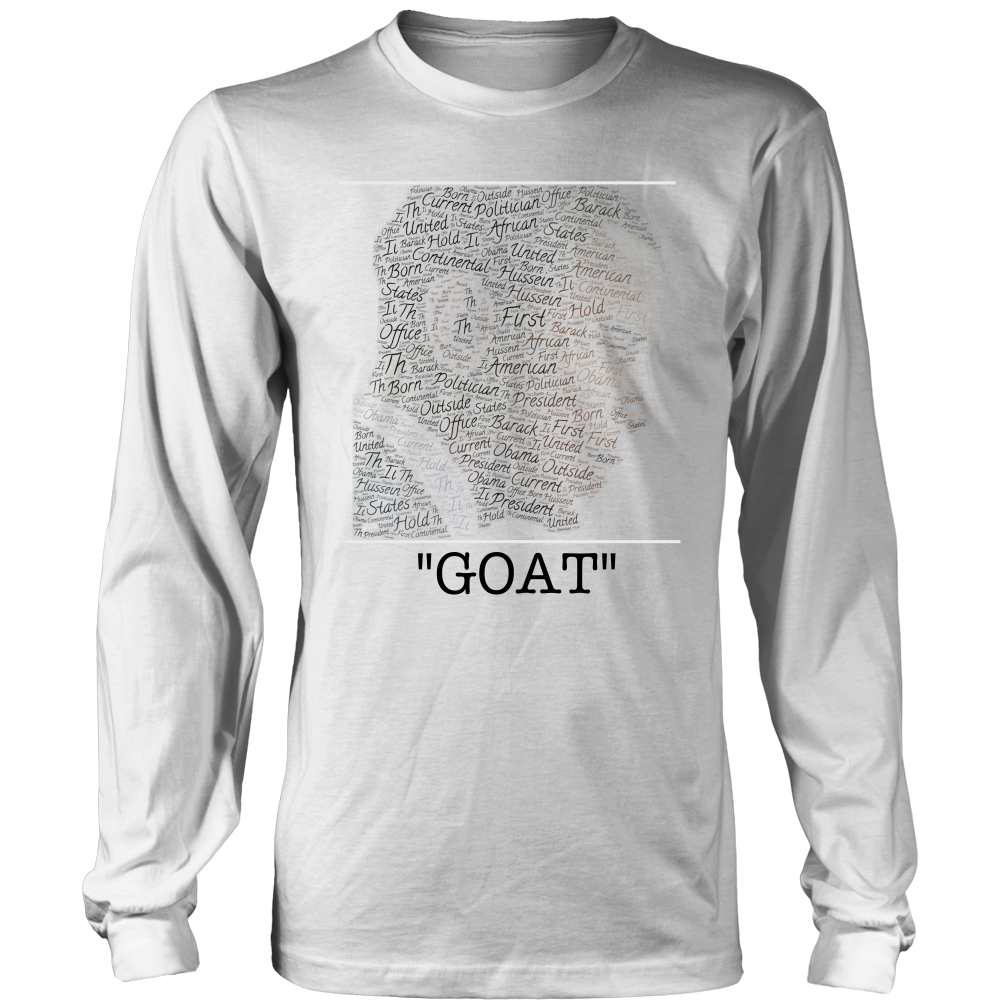(GOAT) Men's Long Sleeve Tee