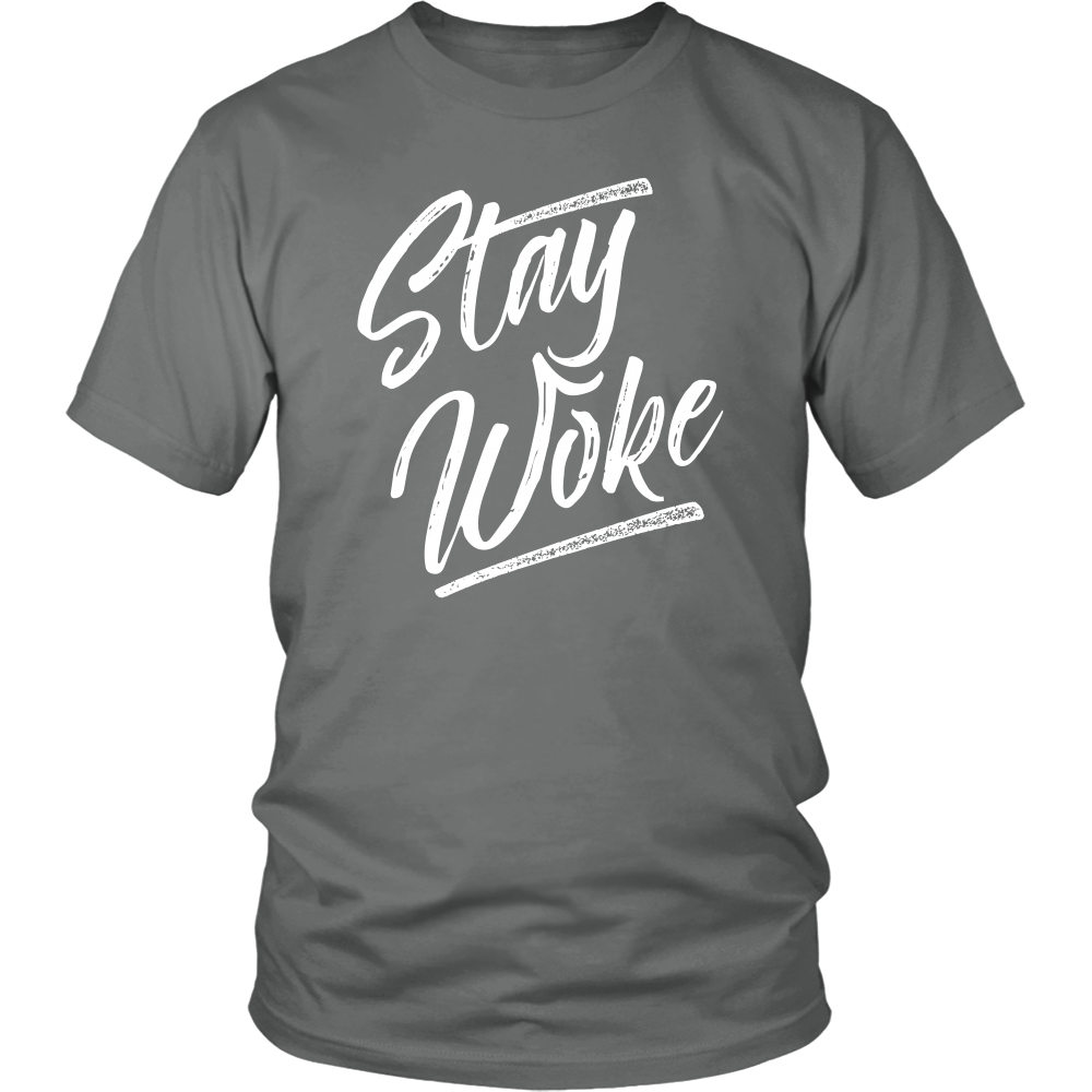 (Stay Woke) District Men's Tee