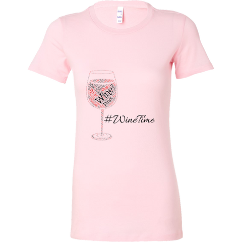 [WineTime] Womens fitted T-shirt