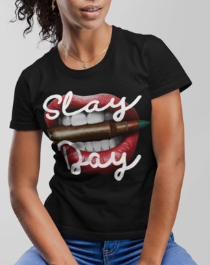 (Slay Day II) Women's Slim Fit T-Shirt