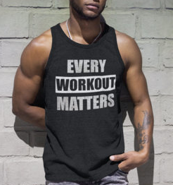 (Every Workout Matters) District Men's Tank
