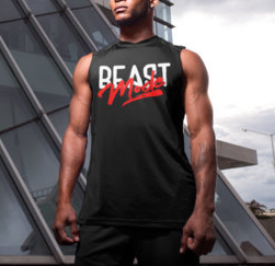 (Beast Mode II) Men's SleevelessTee