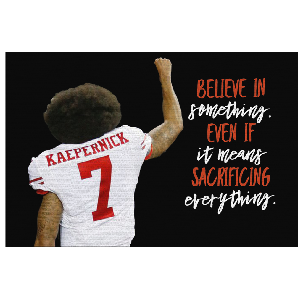 Kaepernick Fist Canvas Print