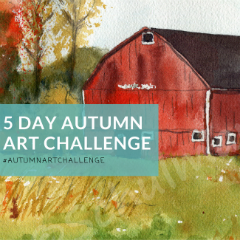 5 Day Autumn Art Challenge #AutumnArtChallenge